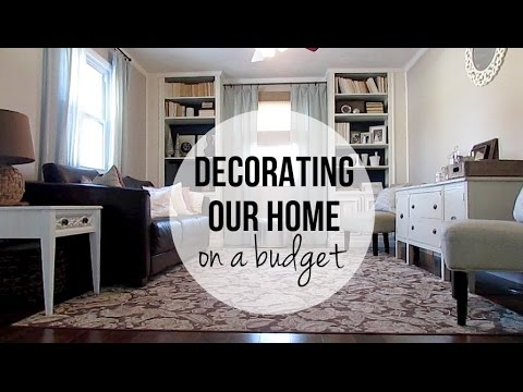 Decorate Your Home On A Budget: Living Room